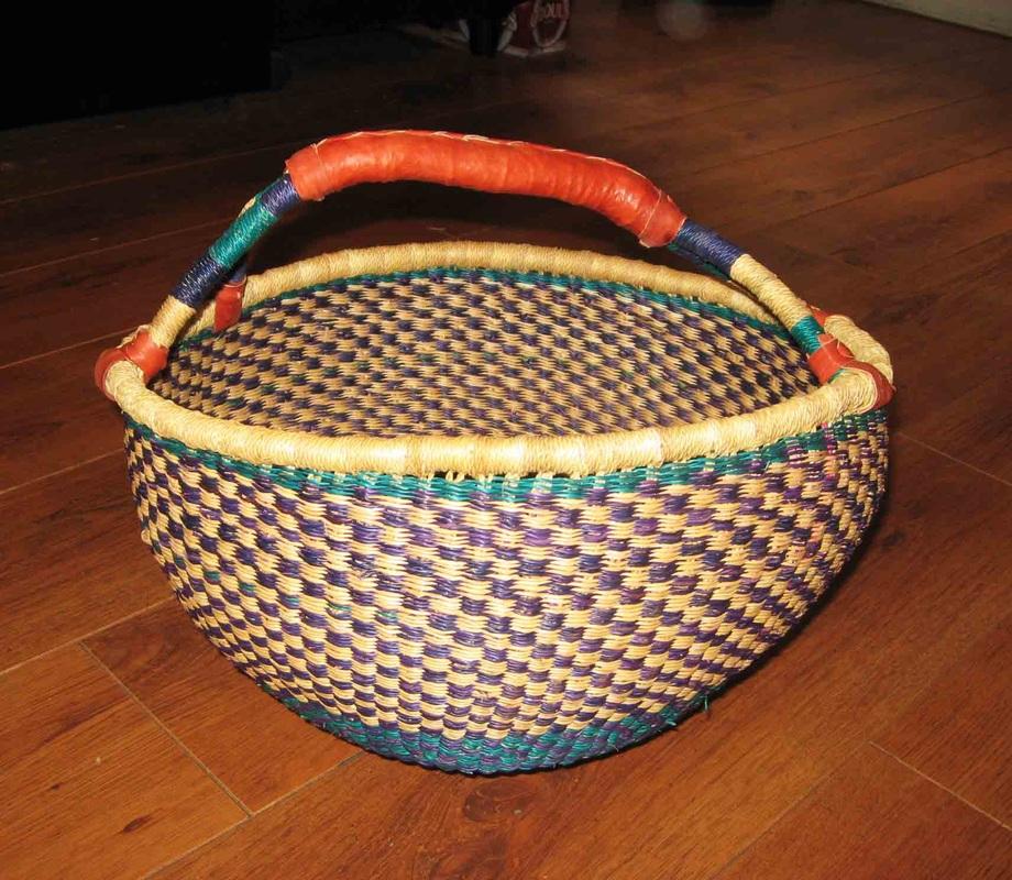 Handmade Ghana Baskets : Trip down memory lane frafra gurune people the